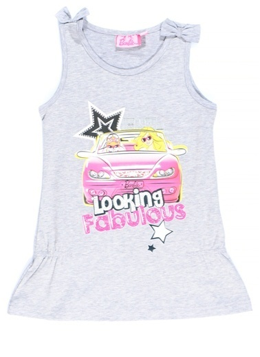 Barbie Tişört Gri